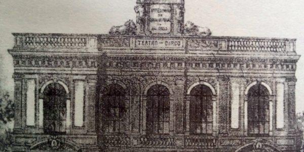 Fachada primitiva del Teatro-Circo «Español», inaugurado el 3 de septiembre 1888.