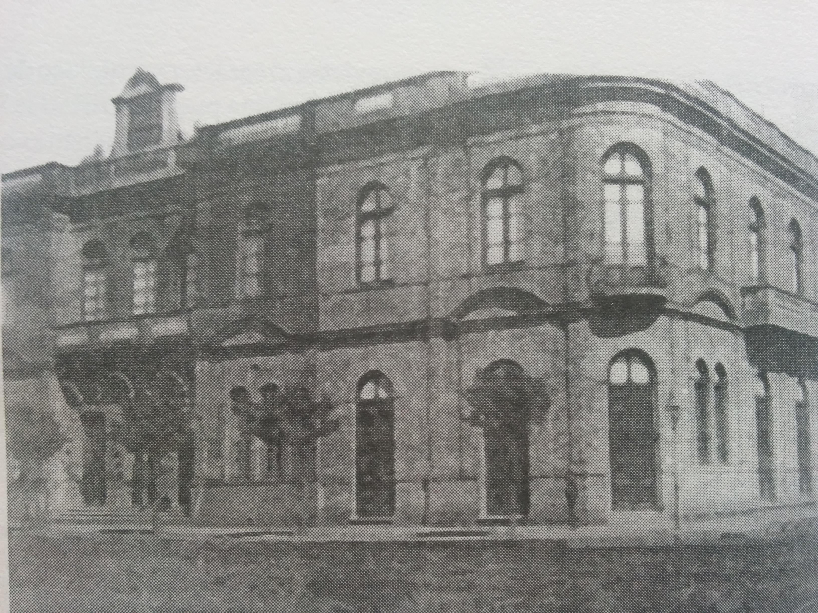 Frente de la Asociación Española, a fines del siglo XIX.