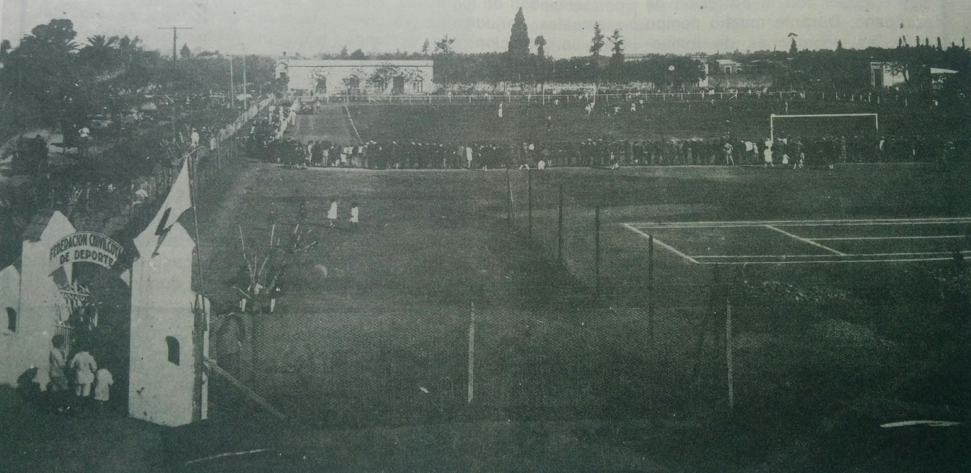Viejo Estadio de la Federación, inaugurado el 9 de julio de 1926.