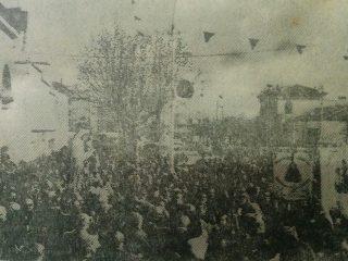 Festividad del Carmen, en la década de 1970.