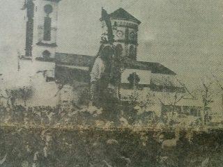 Festividad del Carmen, en los años 70.