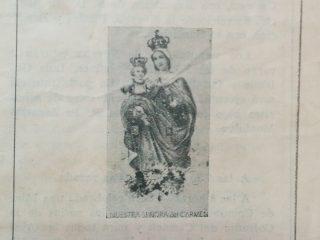 La Festividad de Nuestra Señora del Carmen, en la celebración del año 1949.