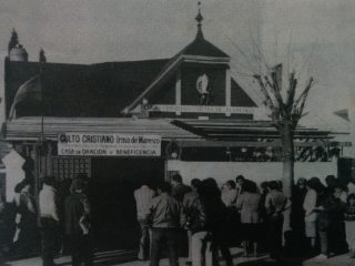 El Templo del barrio porteño de Villa del Parque, inaugurado el 23 de julio de 1972.