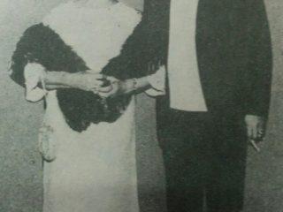 La Hermana Irma, junto a su hijo, el Hermano Miguel Maresco.