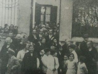 La casona porteña de la Madre María, en la calle  Rioja, que siempre visitaba la Hermana Irma.