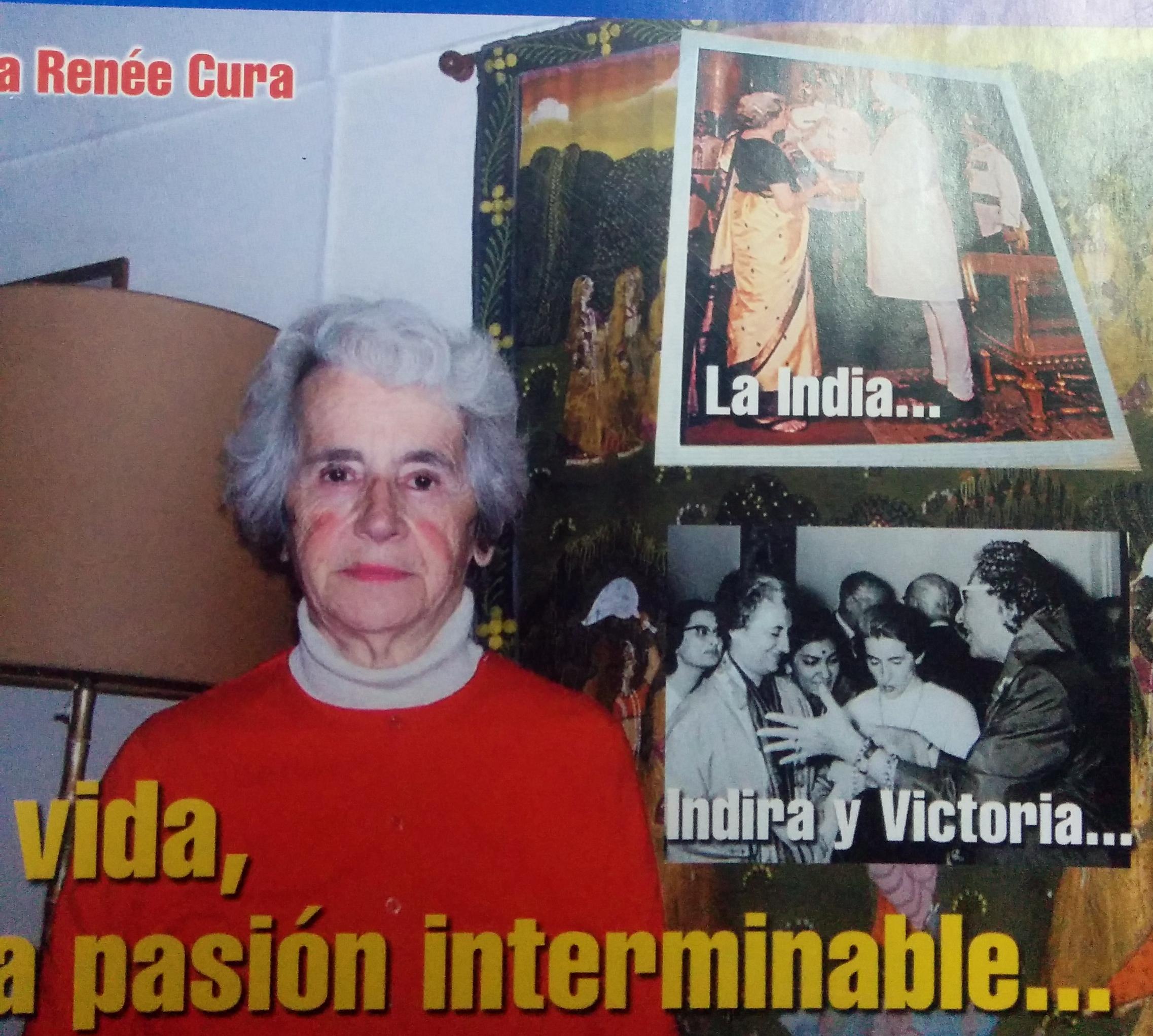 Profesora María Renée Cura (1927-2007).