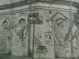 Esquina de las calles Maipú y Río Juramento, antigua propiedad de la familia Vachino, donde nació el Club Racing, el 9 de julio de 1914.