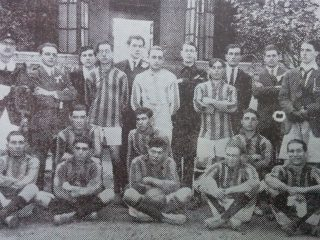 Equipo del Club Racing de 1918.