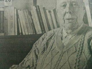 El Dr. Febbraro, miembro integrante del Rotary Club, quien visitó Chivilcoy, hace ya muchos años.