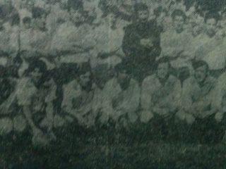 El equipo futbolístico de Club Cerámica Argentina, campeón del Torneo 1970.