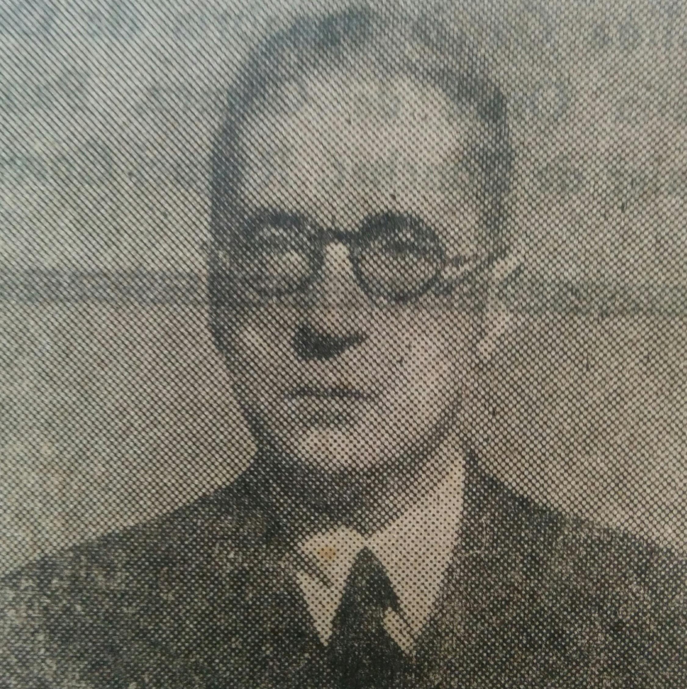 El profesor Don Jesús Garcia de Diego (1877-1961).