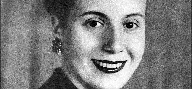 """Eva Duarte de Perón la """"Abanderada de los humildes"""" (7 de mayo de 1919- 26 de julio de 1952)"""