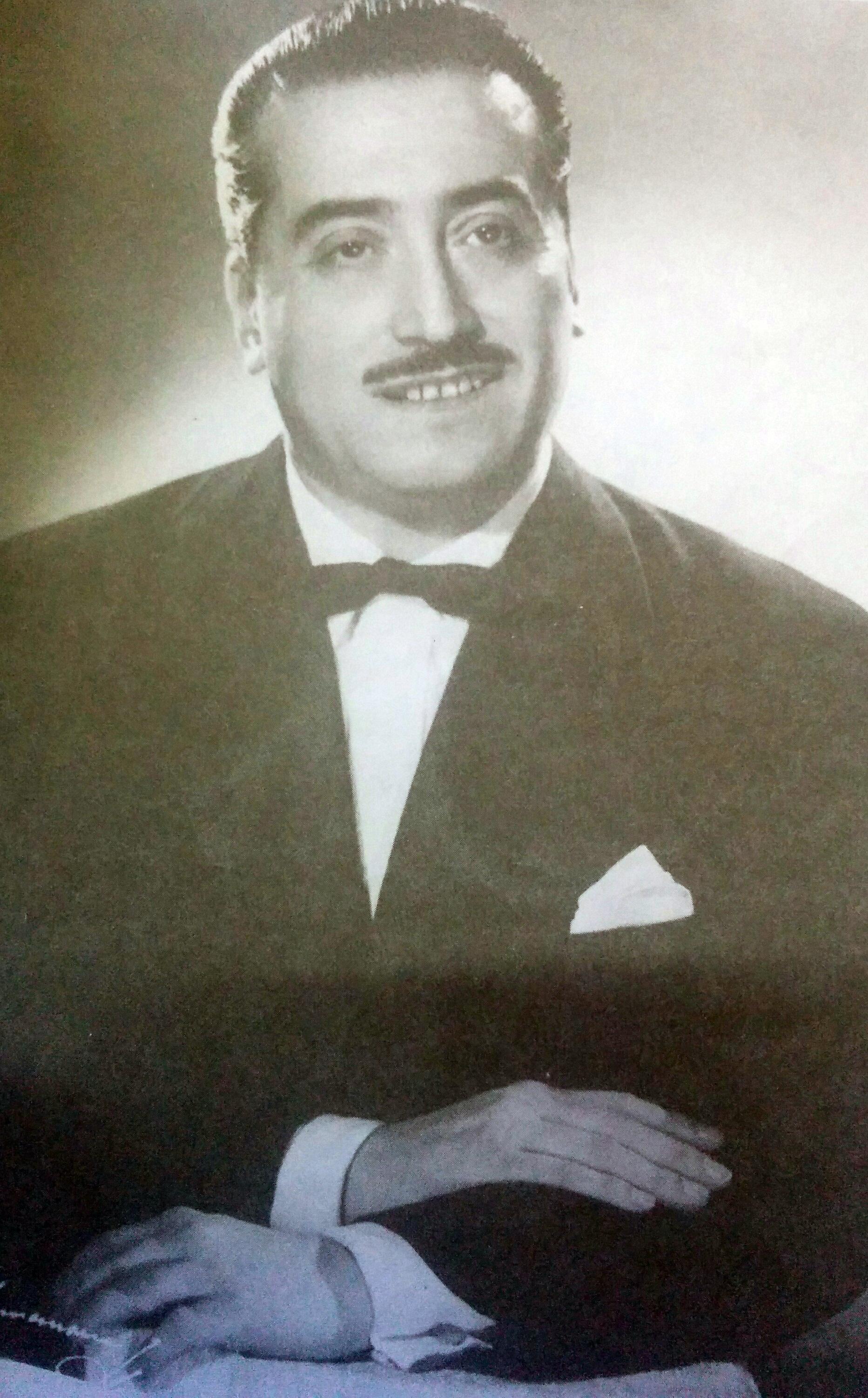El músico del Tango, Argentino Galván (1913-1960).