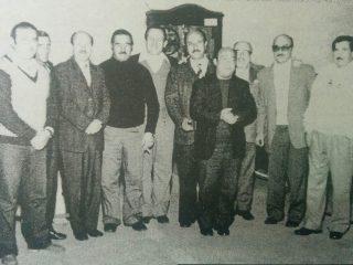 Primera Comisión del Centro Parroquial San Cayetano, en la década de 1970.