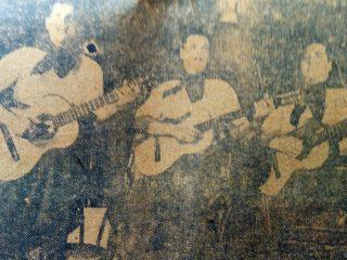 El trío folklórico, «Palacios Riverol, Cabral».