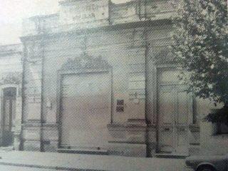 Antigua sede institucional de la Biblioteca, inaugurada el 6 de enero de 1906.