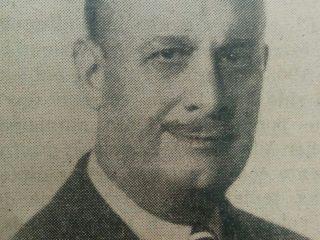 Don Luis Horacio Martelletti, ex presidente y benefactor de la Biblioteca Popular, quien donó el inmueble de su actual sede, en la calle Moreno Nº 30.