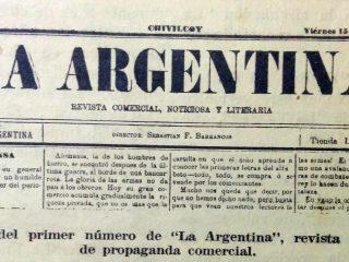 Revista editada por Don Sebastián Barrancos, cuyo primer número, data del 15 de julio de 1892.