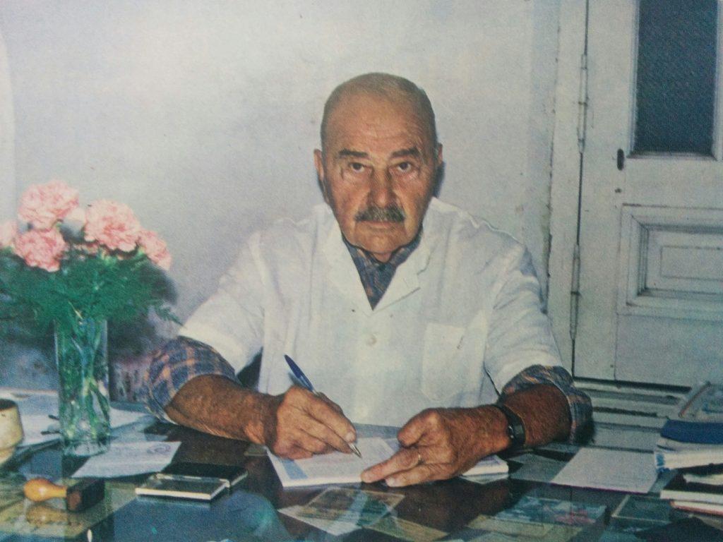 Dr. Raúl María Gutiérrez (1909-2003), fundador y primer presidente del Círculo Médico de Chivilcoy, en 1958.