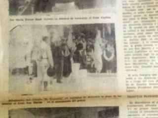 Aniversario sanmartiniano, de 1980.