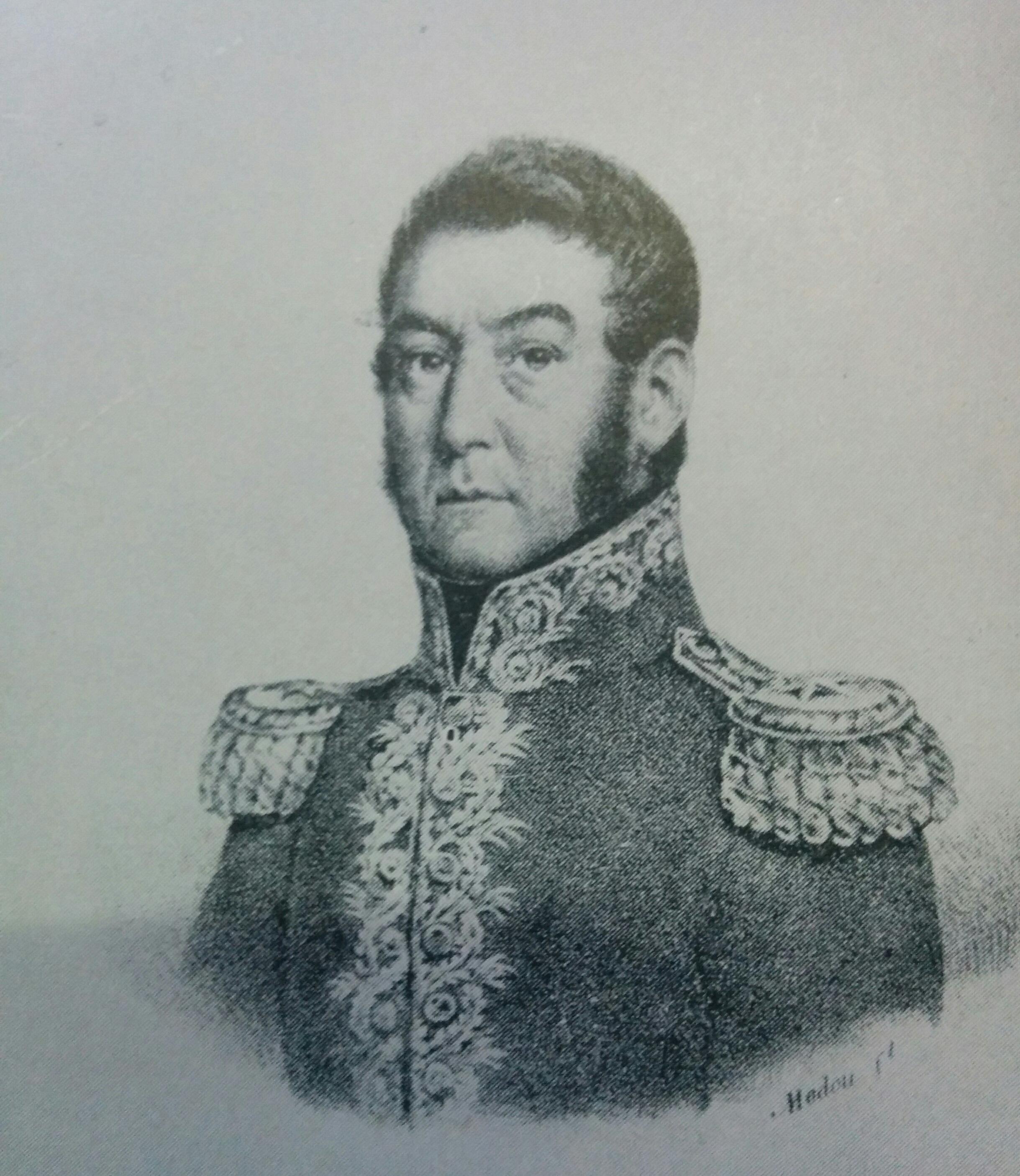 General José de San Martín (1778-1850). El Tiro Federal, de Chivilcoy, fundado en 1934, lleva su imperecedero nombre.
