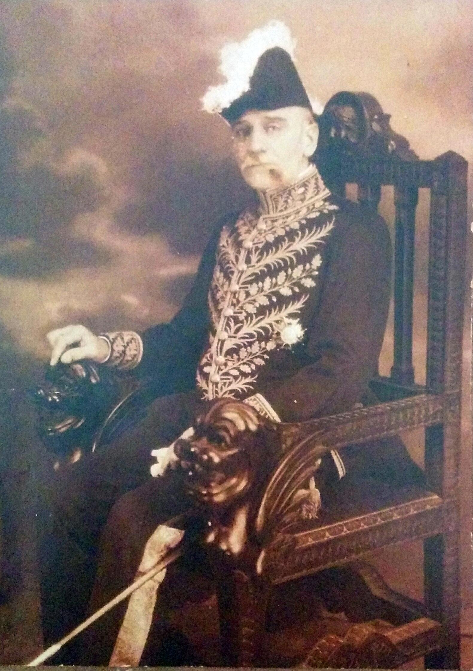 El poeta y diplomático chivilcoyano, Leopoldo Díaz (1862-1947).
