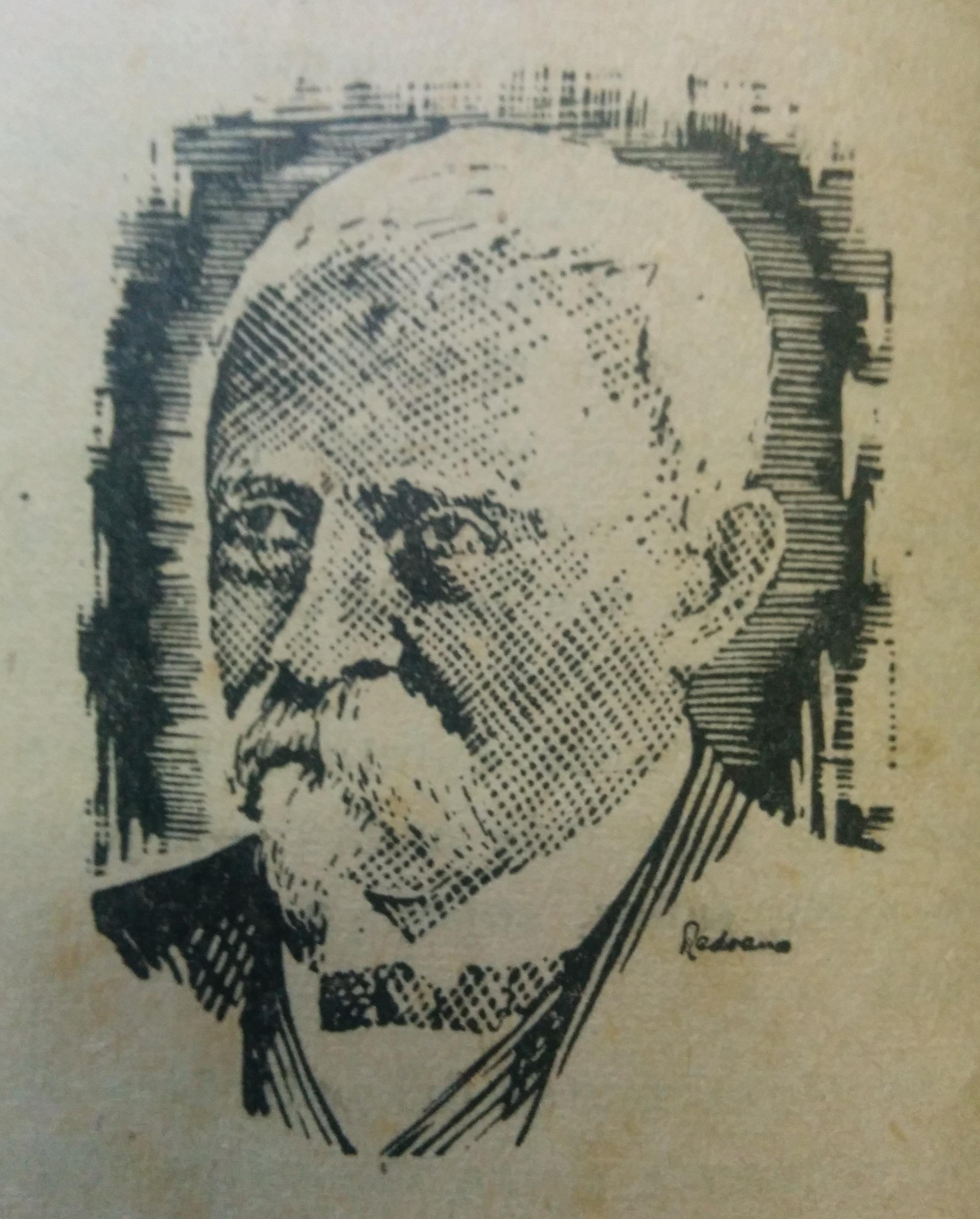 Don Carlos Augusto Fajardo (1830-1920), primer escribano público de Chivilcoy.