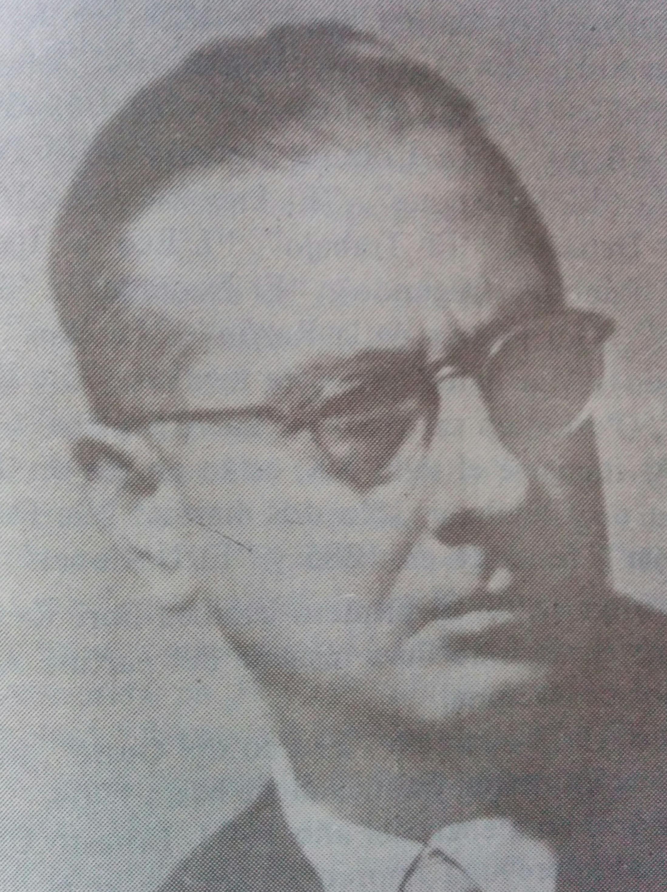 El profesor Pascual Grisolía (1904-1983).