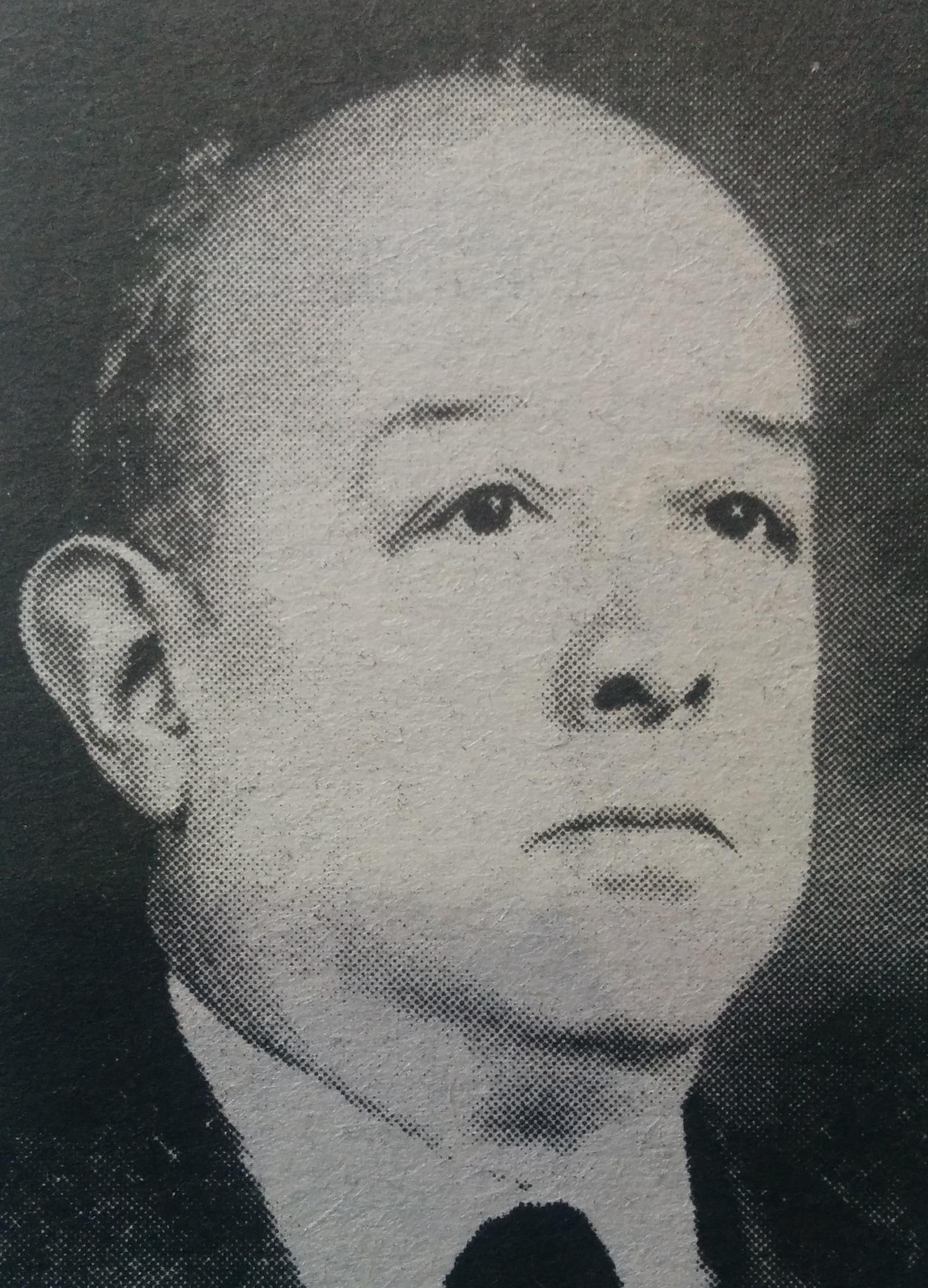Don Francisco Anselmo Castagnino (1884-1955), fundador y primer director, del Museo Histórico Municipal, que lleva, desde 1958, su ilustre nombre.