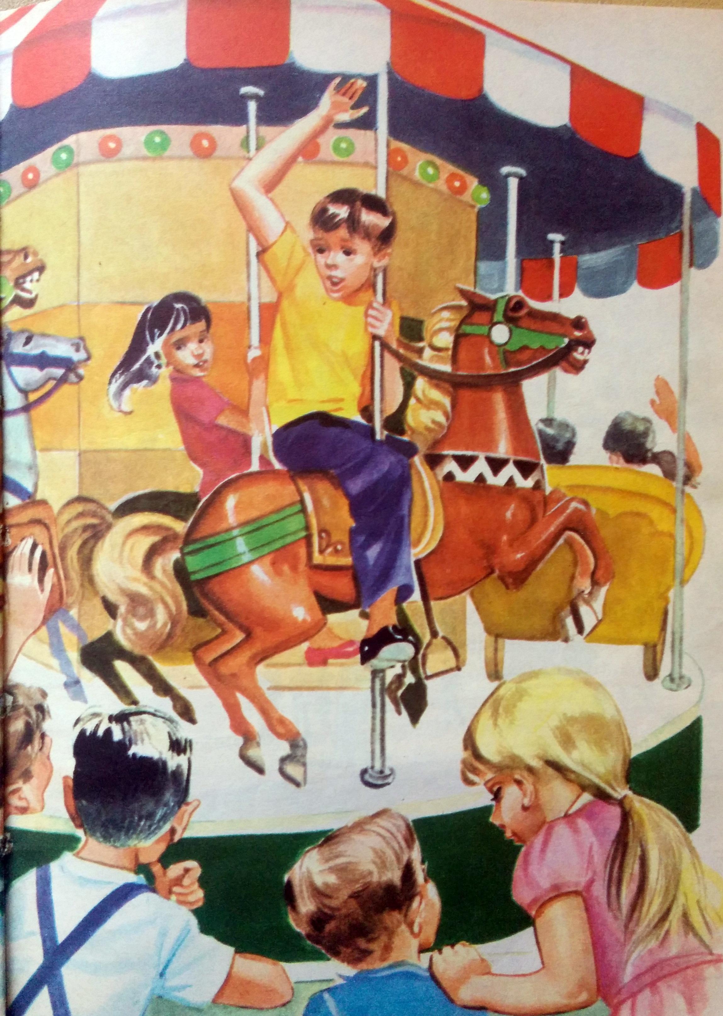 Ilustraciones, de diferentes libros de lectura, de escuela primaria, que corresponden a distintas décadas.