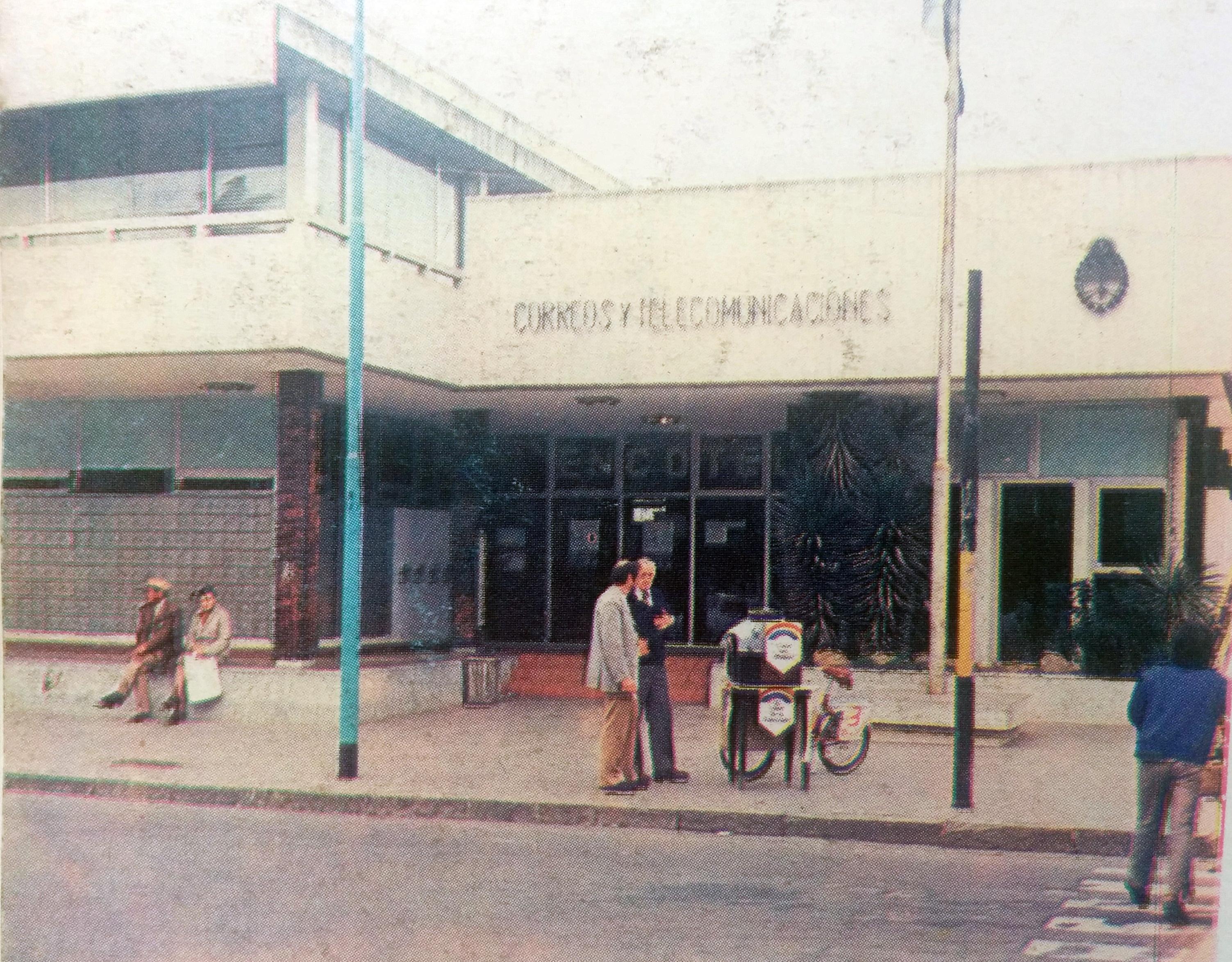 Edificio de ENCOTEL, inaugurado el 11 de agosto de 1973.