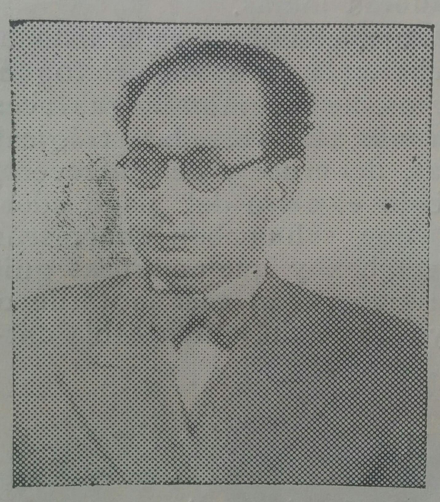 El profesor Miguel Anuncio Tarzia (1895-1948).