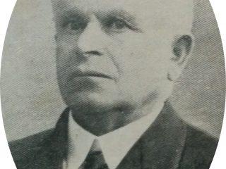 Don Antonio Fagnani, presidente de la Sociedad de Socorros Mutuos Operaria Italiana, que promovió la construcción del cine-teatro Metropol, inaugurado en 1929.
