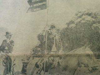 Imágenes fotográficas, de distintos desfiles criollos y evocativos,  de la Fiesta Argentina de la Tradición, aquí, en nuestra ciudad (Décadas de 1970 y 1980).