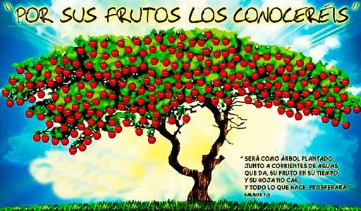 """""""Los hombres como los árboles, se conocen por su fruto"""". Más hechos, y menos palabras..."""