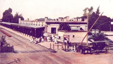 La antigua Estación Ferroviaria Norte, inaugurada el 11 de septiembre de 1866.