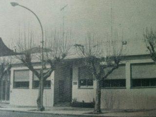 Antigua fachada de la sede, del Centro Unión Empleados de Comercio. En la actualidad, desde 1992, Sindicato de Empleados de Comercio y Servicios.