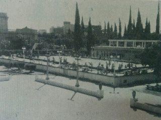 Imagen fotográfica, del campo de deportes, del Centro Unión Empleados de Comercio.