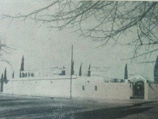 Fachada del campo de Deportes, del Centro Unión Empleados de Comercio, inaugurado, los días 11 y 12 de febrero de 1933.