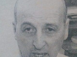 Señor Omar Alcides Bellicoso, secretario general, del Sindicato de Empleados de Comercio y Servicios. Fue elegido, por vez primera, en 1972.