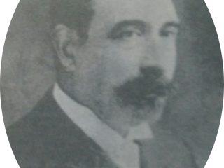 Don Prudencio Segundo Moras (1854-1939), Intendente municipal de Chivilcoy, en 1892, cuando fue declarada Ciudad.
