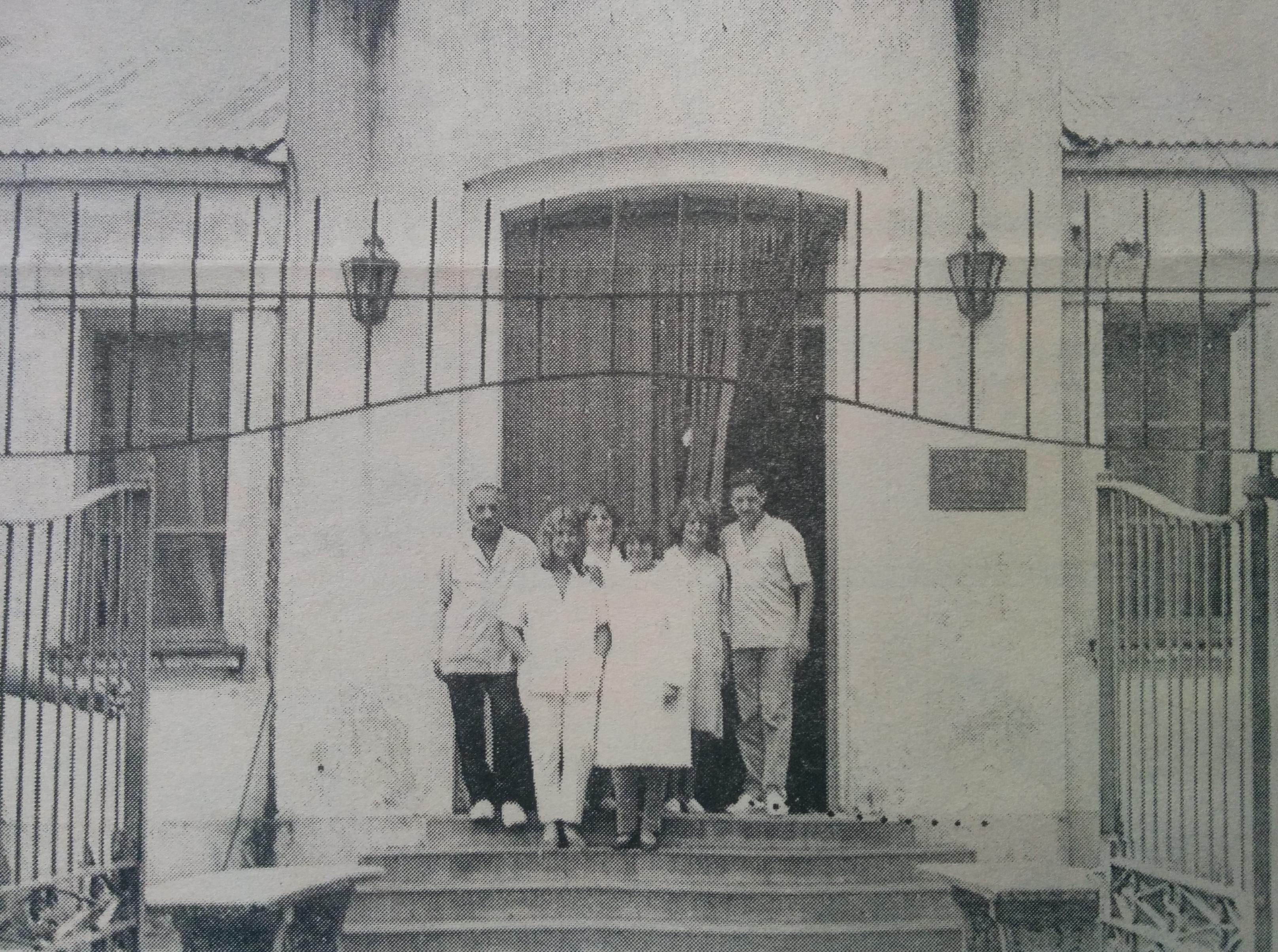 Geriátrico Municipal San José, habilitado el 29 de agosto de 1987.