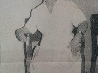 Hermana Concepción Ribalta, durante muchos años, de solidaria y piadosa labor, al frente del Geriátrico Municipal.