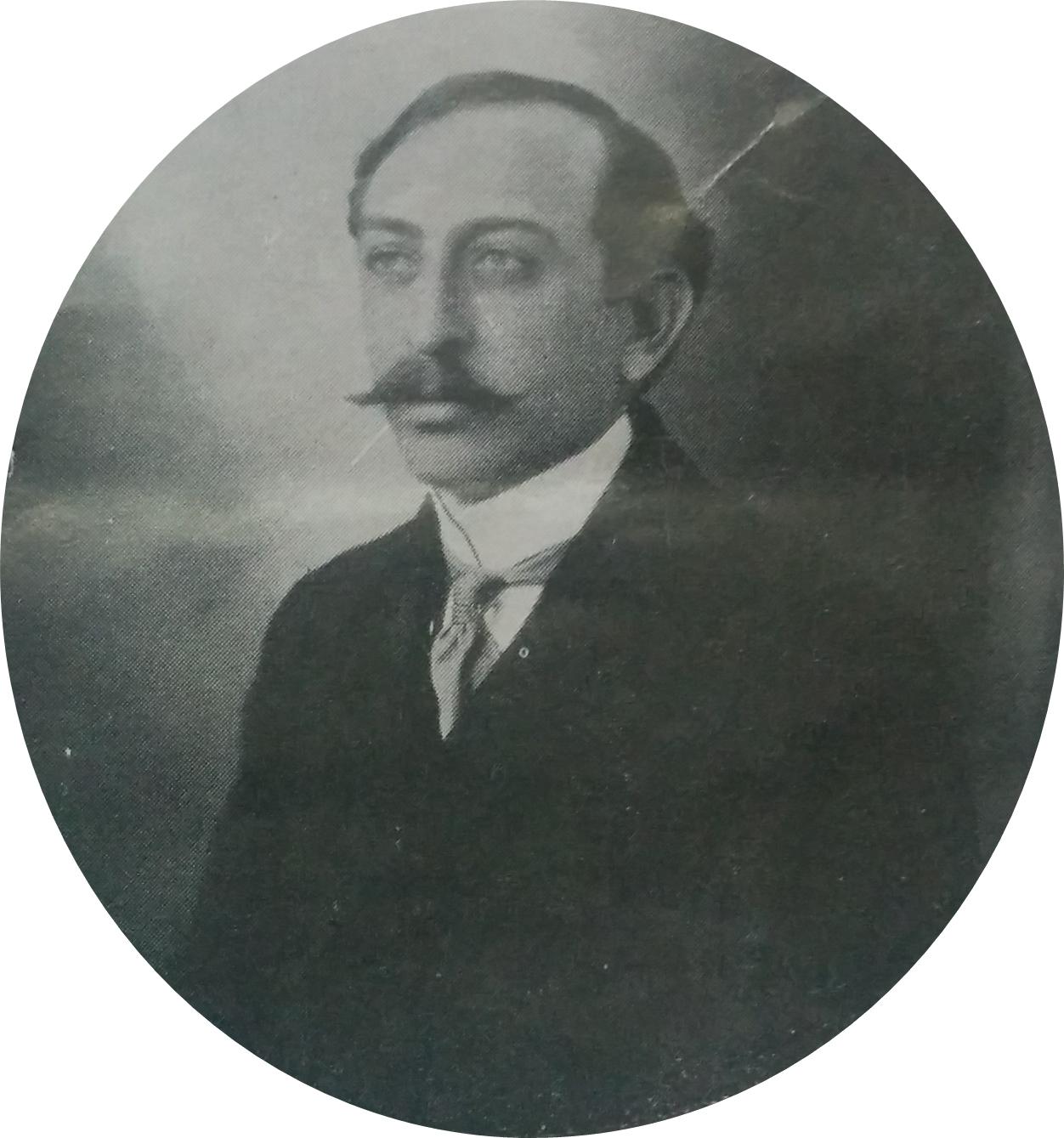 El Dr. Pedro J. Uslenghi, nacido en 1877, y fallecido en 1933.