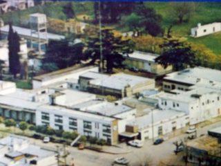 Vista panorámica, del Hospital Municipal de Chivilcoy, inaugurado el 25 de mayo de 1887.