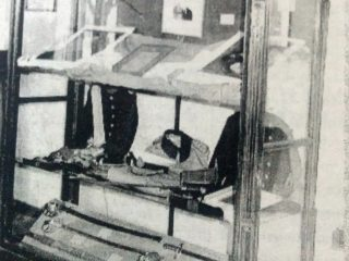 Vitrinas evocativas, del Museo Histórico Municipal