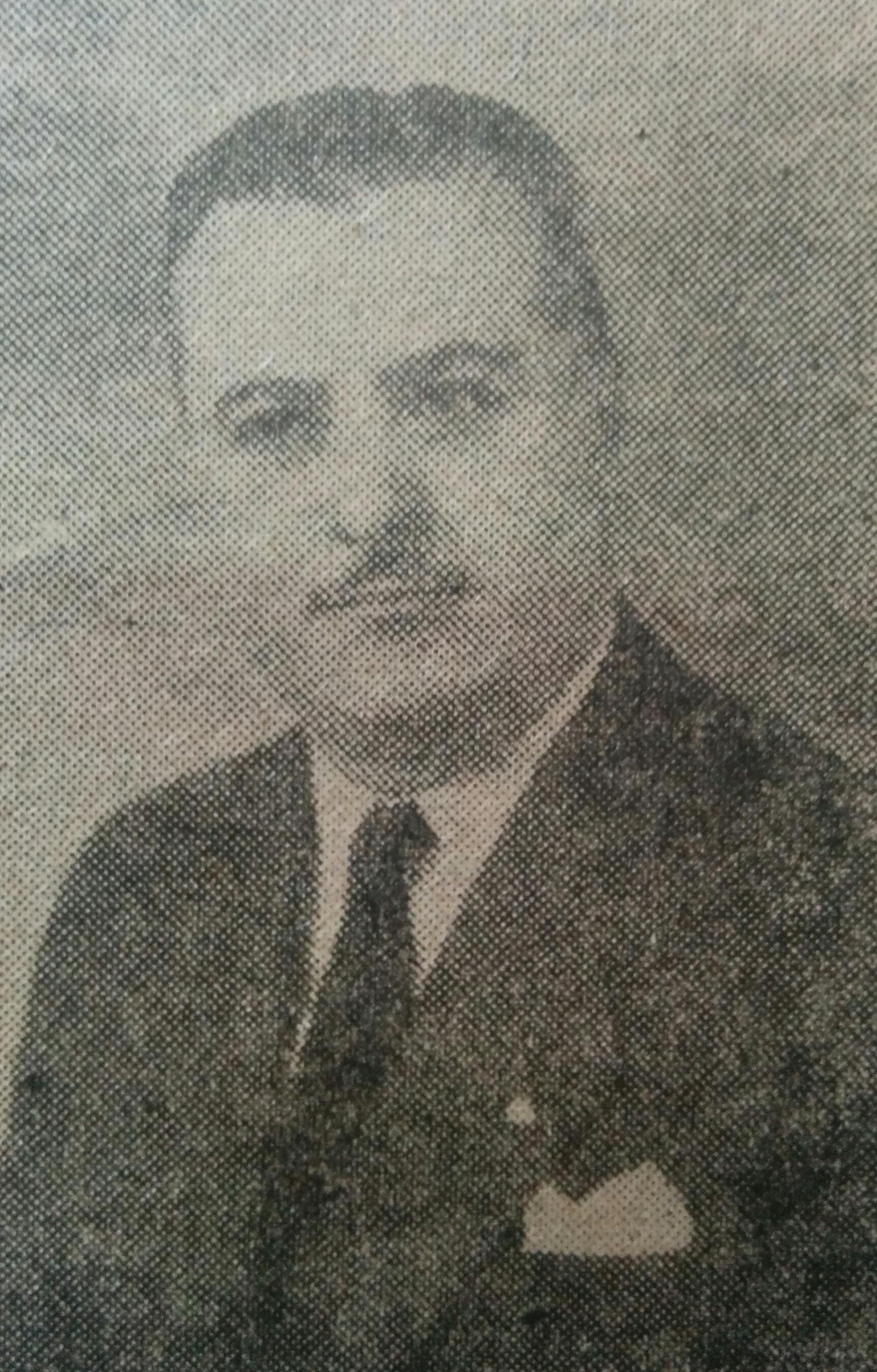 Dr. Francisco José Faverio (1911-1979), ex intendente municipal, entre los meses de mayo y septiembre de 1955.