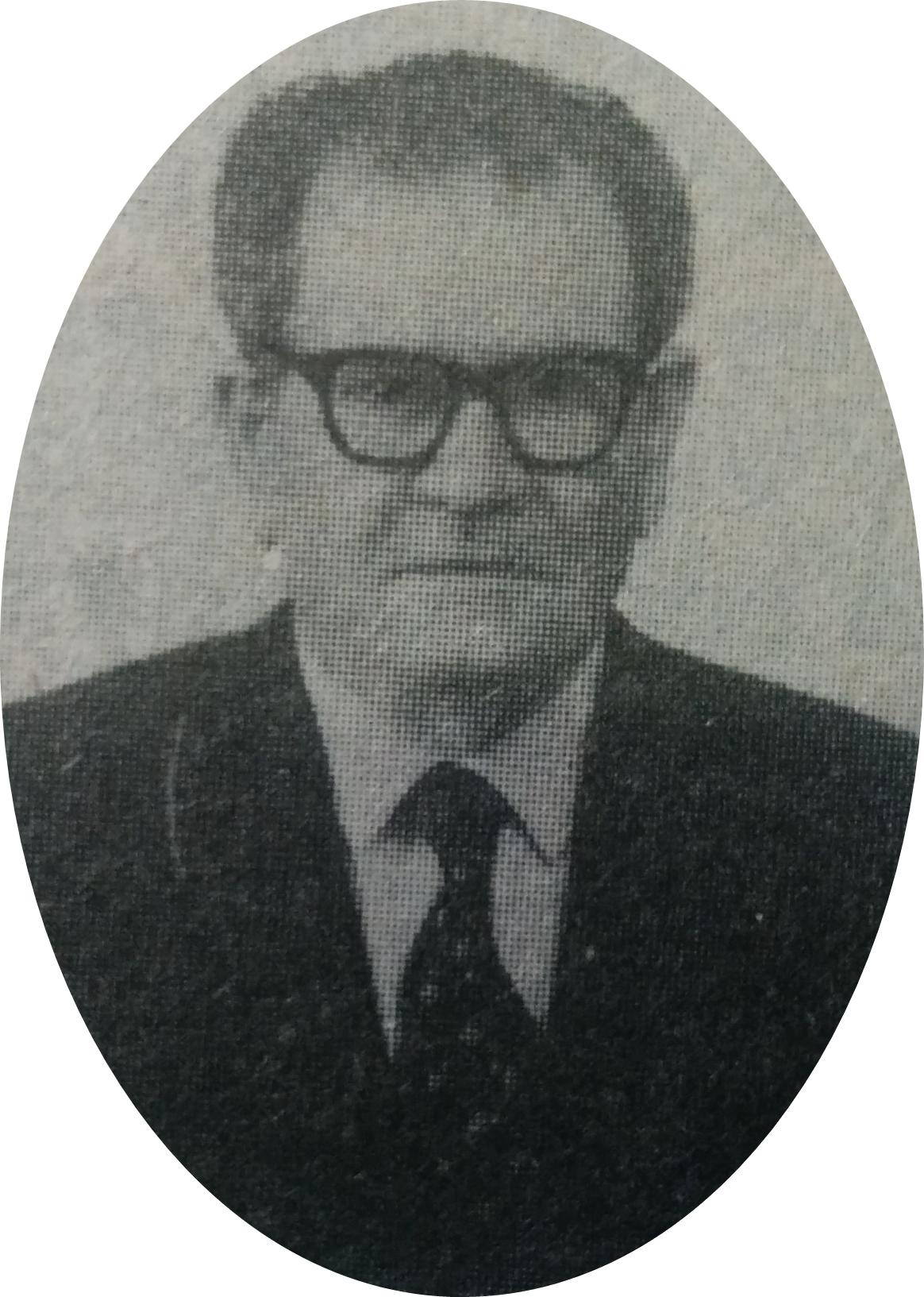 Don Pedro Panzardi (1895-1979), caracterizado dirigente político del partido socialista, de Chivilcoy.