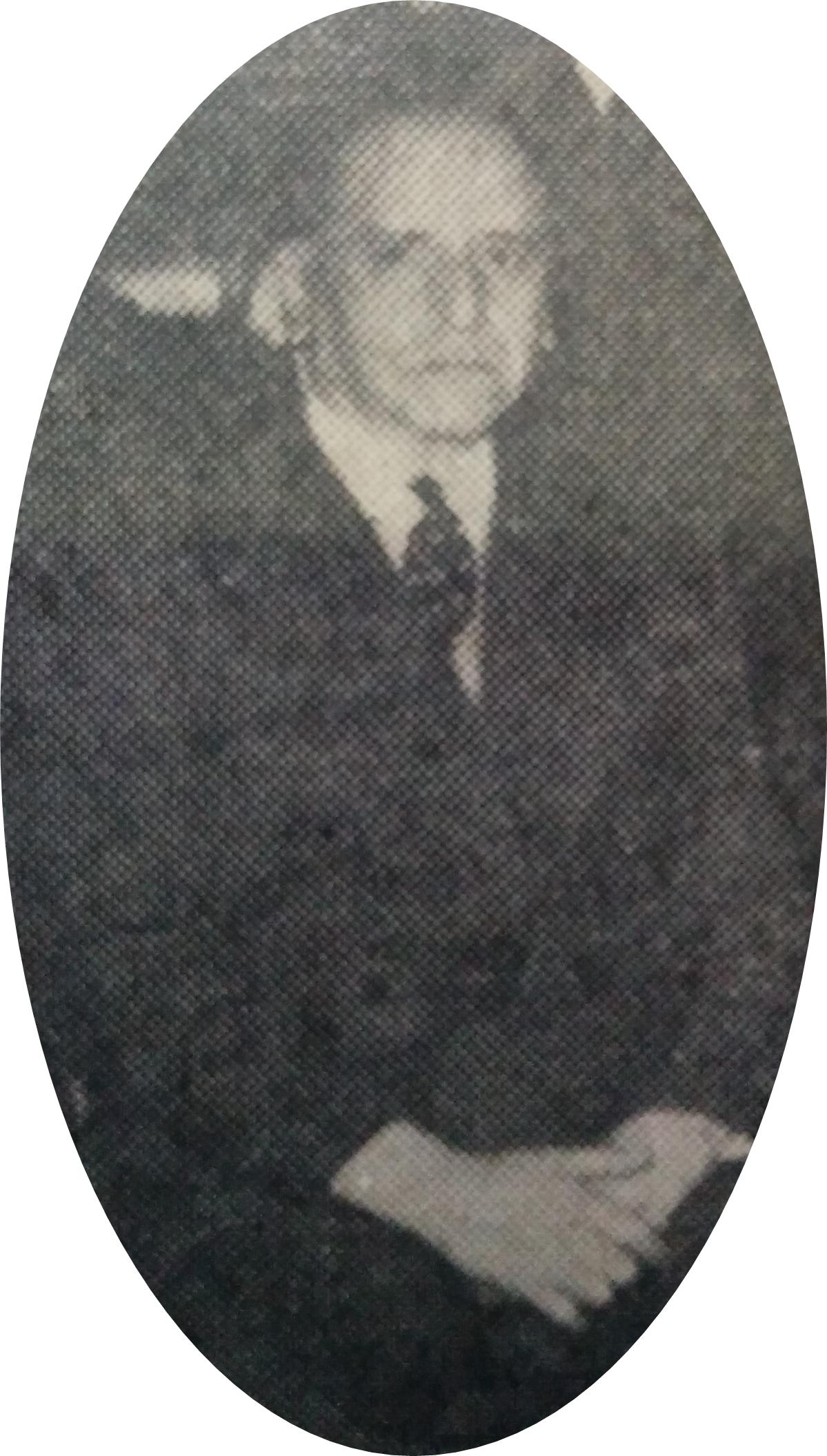 """El Dr. Arturo S. García Sanabria (1894-1977). Poeta, historiador, abogado y ex magistrado, fue presidente del Centro de Amistad y Cultura """"Chivilcoy, fundado el 26 de octubre de 1946."""