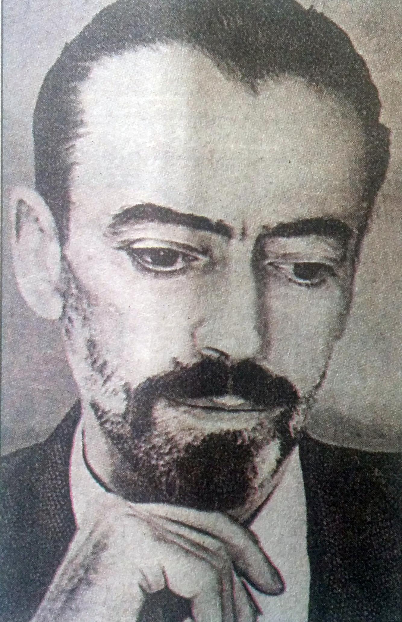 El poeta, escritor y periodista, Vicente Mauricio Barbieri. (1903-1956).